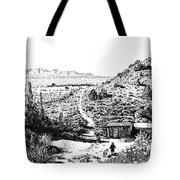 Desert Home Tote Bag by Joseph Juvenal