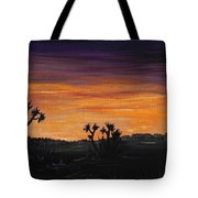Desert Night Tote Bag by Anastasiya Malakhova