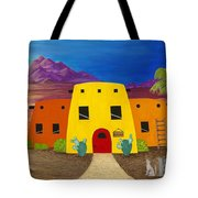 Desert Oasis Tote Bag by Carol Sabo