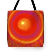 Desert Sunburst Tote Bag by Daina White