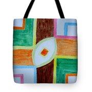 Destiny Plan Tote Bag by Sonali Gangane