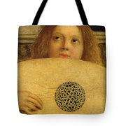 Detail Of The San Giobbe Altarpiece Tote Bag by Giovanni Bellini