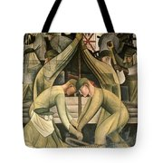 Detroit Industry  south wall Tote Bag by Diego Rivera
