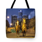 Detroit's Finest Detroit MI Tote Bag by B And G Art