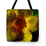 Dew Trumpet Tote Bag by Greg Patzer