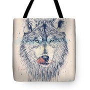 Dinner Time Tote Bag by Balazs Solti