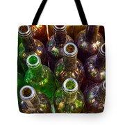 Dirty Bottles Tote Bag by Carlos Caetano