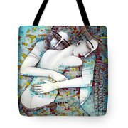 Do Not Leave Me Tote Bag by Albena Vatcheva