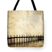Dock 2 Tote Bag by Skip Nall