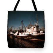 Docked For The Day Tote Bag by Venetta Archer