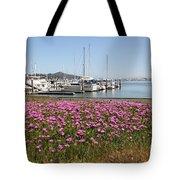 Docks at Sausalito California 5D22695 Tote Bag by Wingsdomain Art and Photography