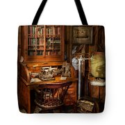 Doctor - My Tiny Little Office Tote Bag by Mike Savad