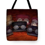 Doctor - Optometrist - Array of Opticals Tote Bag by Mike Savad