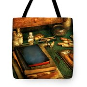 Doctor - The Busy Doctor Tote Bag by Mike Savad