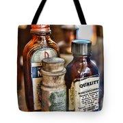 Doctor The Mercurochrome Bottle Tote Bag by Paul Ward