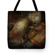 Doctor - Wwii Emergency Med Kit Tote Bag by Mike Savad