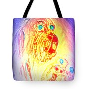 dogs are the truest Tote Bag by Hilde Widerberg