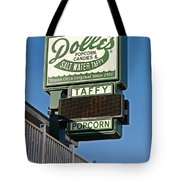 Dolle's Tote Bag by Skip Willits