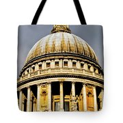 Dome Of St. Paul's Cathedral Tote Bag by Christi Kraft