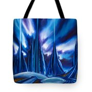 Domed City Tote Bag by James Christopher Hill