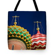 Domes Of Vasily The Blessed Cathedral - Feature 3 Tote Bag by Alexander Senin