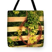 Don't Fence Me In Tote Bag by Cricket Hackmann