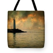 Don't Leave Me Now Tote Bag by Taylan Soyturk