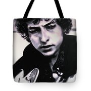 Dont Think Twice Its Alright  Tote Bag by Luis Ludzska