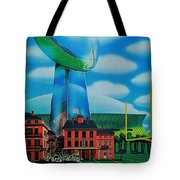 Doomsday Domination Tote Bag by Benjamin Yeager