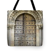 Door Tote Bag by Frank Tschakert