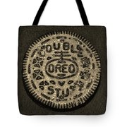 Double Stuff Oreo In Sepia Negitive Tote Bag by Rob Hans