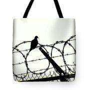 Dove Mourning Tote Bag by Joe Jake Pratt
