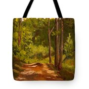 Down the Road Tote Bag by Janet Felts