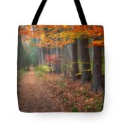 Down The Trail Tote Bag by Bill Wakeley