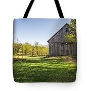Downtown Metropolitan Etna Nh Tote Bag by Edward Fielding