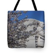 Dr Martin Luther King Jr Memorial Tote Bag by Susan Candelario