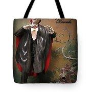 Dracula Model Kit Tote Bag by John Malone