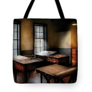 Draftsman - The Drafting Room Tote Bag by Mike Savad