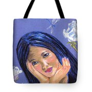 Dragonfly Dreamer Tote Bag by Jane Small