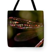 Dragonfly Jewels Tote Bag by Rona Black