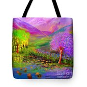 Dream Lake Tote Bag by Jane Small