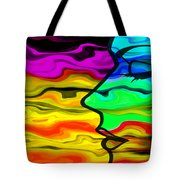 Dreaming 2 Tote Bag by Angelina Vick