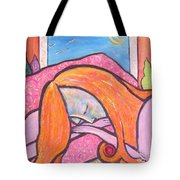 Dreamscape Tote Bag by Chaline Ouellet