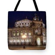 Dresden Semperopera Tote Bag by Steffen Gierok