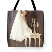 Dress Tote Bag by Amanda And Christopher Elwell