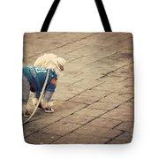 Dressed Up Dog Tote Bag by Juli Scalzi