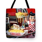 Drive-in Food Classic Tote Bag by Carolyn Marshall