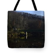 Dry Fork at Jenningston Tote Bag by Randy Bodkins