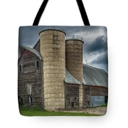Dual Silos Tote Bag by Paul Freidlund