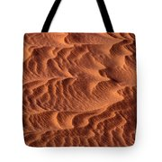 Dune Patterns - 246 Tote Bag by Paul W Faust -  Impressions of Light